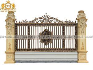 Hàng rào nhôm đúc HR-05 vẻ đẹp đẳng cấp, sang trọng