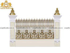 Hàng rào nhôm đúc HR-06 sự lựa chọn yêu thích nhất hiện nay