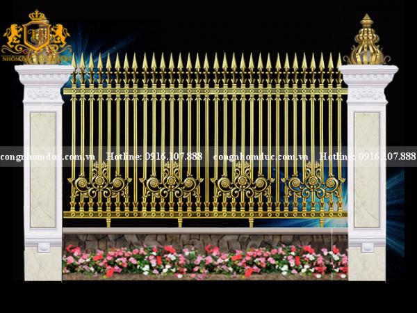 Hàng rào nhôm đúc HR-14